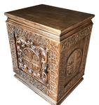 Carved memorial table - U3