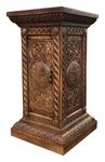 Carved memorial table - U5