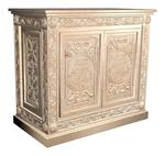 Carved memorial table - U6