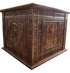Carved Holy table vestment - U5