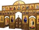 Carved church iconostasis - U2