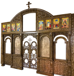 Carved church iconostasis - U4