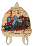 Kid's back sack - Steam locomotives