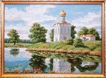 Tapestry picture - Church of Protection of the Most Holy Theotokos