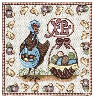 Tapestry Paschal napkin set - 6