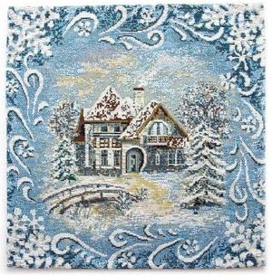 Tapestry Nativity napkin set - 11