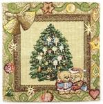 Tapestry Nativity napkin set - 13