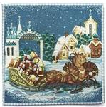 Tapestry Nativity napkin set - 14