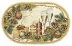 Tapestry Nativity napkin - 16