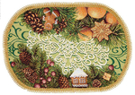 Tapestry Nativity napkin - 21