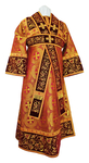 Embroidered Subdeacon vestments - Iris (claret-gold)