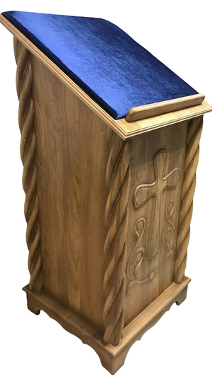 Carved lectern - S3