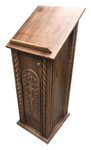 Carved lectern - S11