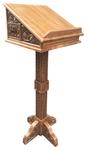 Altar carved  lectern - S12
