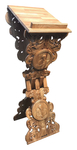 Folding carved lectern - S13