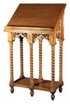 Double Greek carved lectern - S15