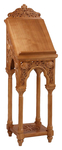 Carved lectern - S17