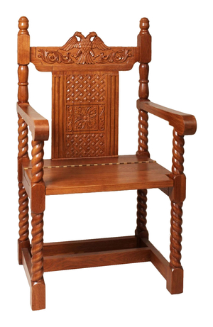 Church carved seat no.2