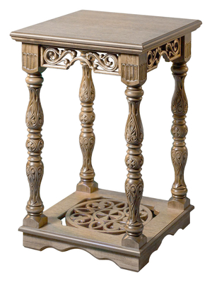 Carved litia table - S7