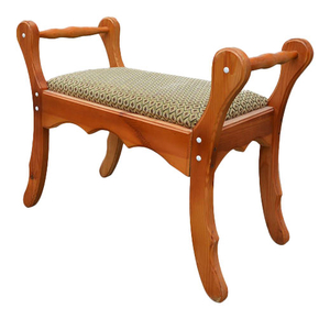 Carved church seat - S12