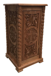 Carved litia table - S13