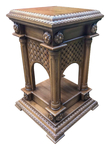 Carved reliquary table - S21