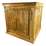 Carved Holy table vestment - S3