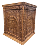 Carved Holy table vestment - S6