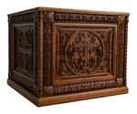 Carved Holy table vestment ? 8