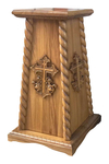 Church banner carved support - S23