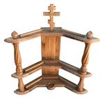 Carved icon shelf - S1