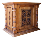 Carved Byzantine memorial table - S32