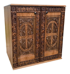Carved Byzantine memorial table - S25