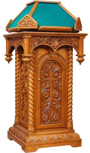 Church lecterns: Kliros Ajur carved lectern