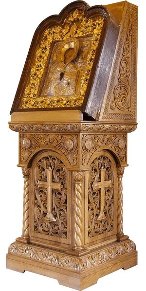 Church lecterns: Festal carved lectern