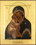 "Byzantine icon: Most Holy Theotokos of Don (19.5x27.5"" (50x70 cm))"