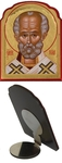 Icon for car: St. Nicholas the Wonderworker - C63