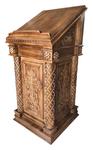 Carved church lectern - U15