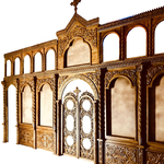 Two-layer carved iconostasis - S5